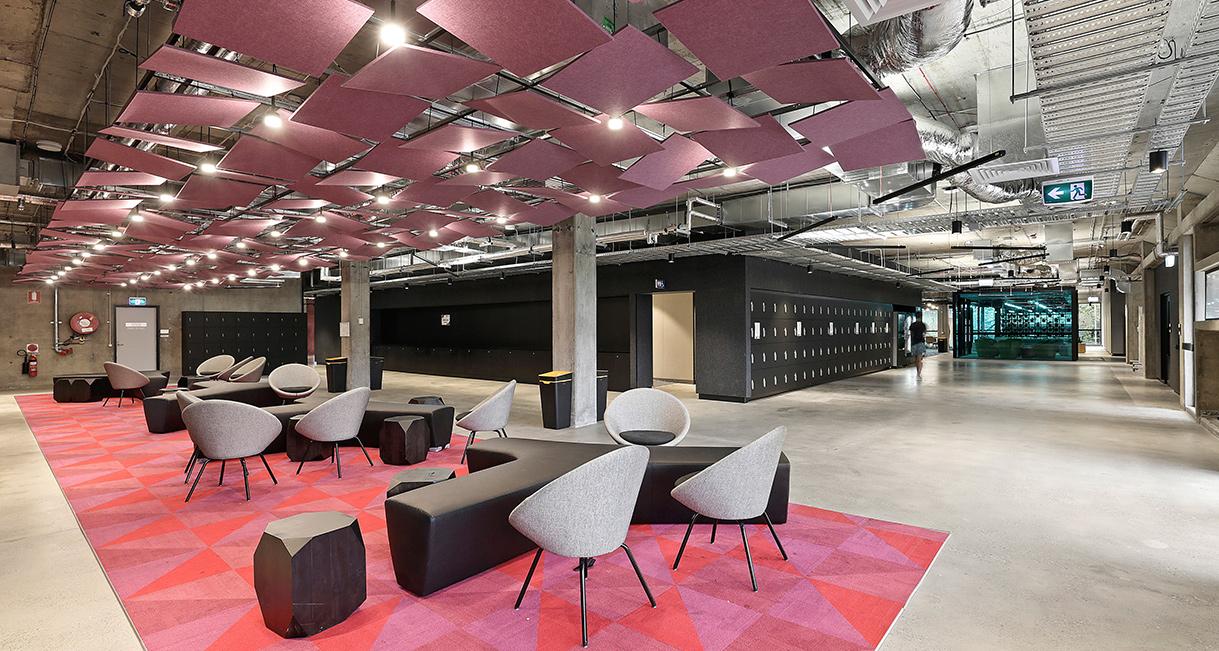 Industralight_Macquarie_University_High_lounge_5Industrial_LED_Lighting